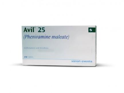 Avil 25 gm Tablet