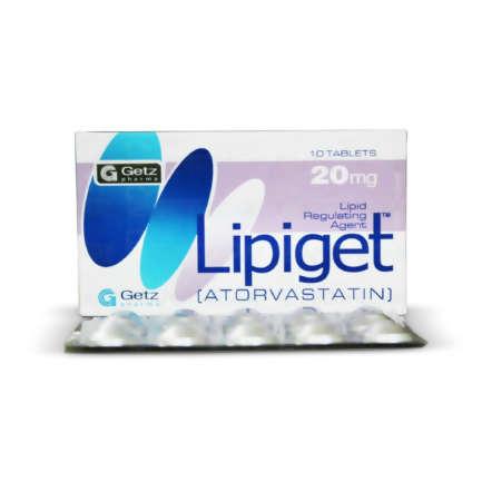 LIPIGET 20MG