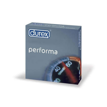 Durex Performax  delay / prolonged effect condoms