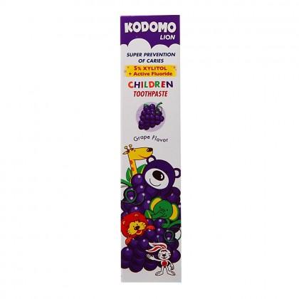 Kodomo Grape Flavor Children s Toothpaste 80g