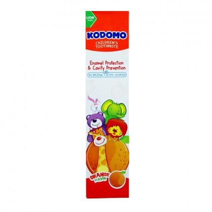 Kodomo Orange Flavor Children s Toothpaste 80g