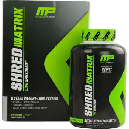 MUSCLE PHARM SHRED MATRIX in Pakistan