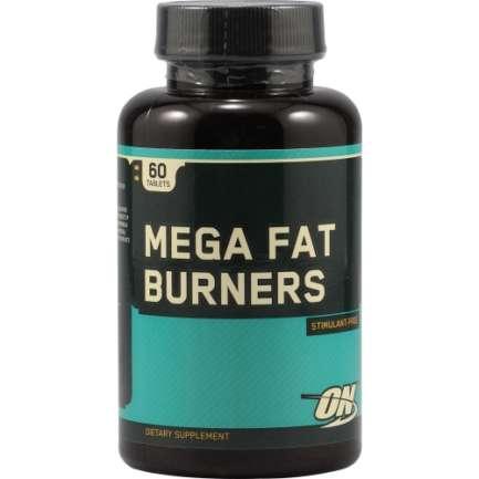 Optimum Nutrition Mega Fat Burners 60 Caps in Pakistan