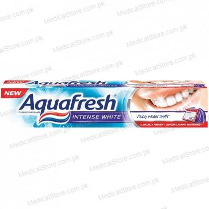 Aqua Fresh Intense White Toothpaste (100ml)