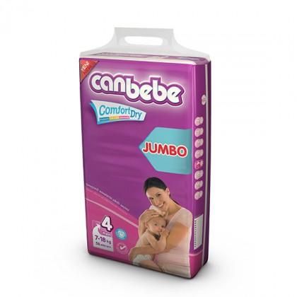 CANBEBE JUMBO PACK MAXI 7-18KG (60PCS)