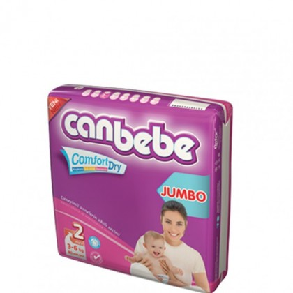 CANBEBE JUMBO PACK MINI 3-6KG (80PCS)