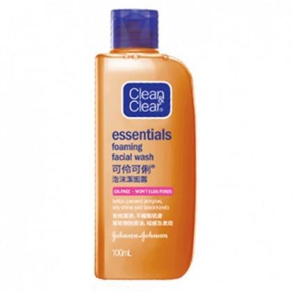 Clean & clear facial cleanser