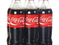 Coca Cola 6 Pack Bottles 1.5Ltr