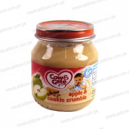 Cow & Gate Apple & Cookie Crumble 4-6 months (125g)