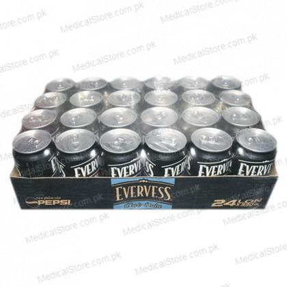 Evervess Club Soda Can (24x300ml)