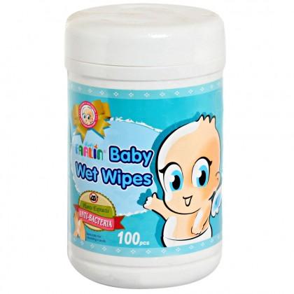 Farlin Baby Wet Wipes – Anti-Bacteria 100 Pcs Jar
