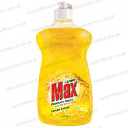 Lemon Max Dishwash Liquid (475ml)