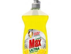 Lemon Max Ultra Dishwash Liquid (yellow)