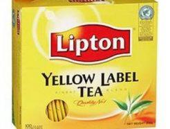 Lipton Yellow Label Tea Bag – Black (100 Sachet Pack)