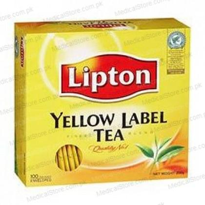 Lipton Yellow Label Tea Bag – Black (100 Sachet Pack)