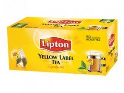 Lipton Yellow Label Tea Bag – Black (25 Sachet Pack)