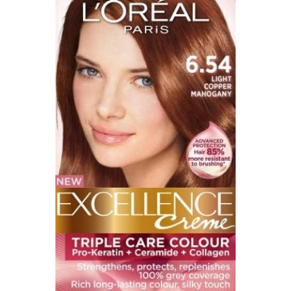 loreal hair colour copper brown shade dark brown hairs of