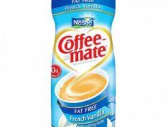 Nestle Coffee Mate French Vanila Fat Free (425gm)