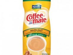 Nestle Coffee Mate Hazelnut Suger Free (425gm)