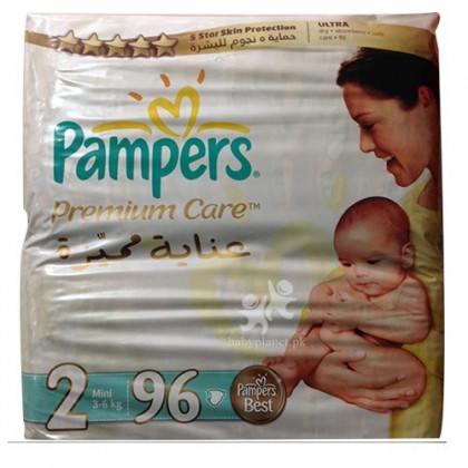 Pamper Premium Care 2 (3-6 Kg) 96 Pcs