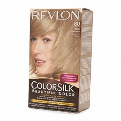 Revlon Colorsilk Hair Color Dye - Light Ash Blonde 80