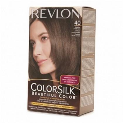 Revlon Colorsilk Hair Color Dye – Medium Ash Brown 40