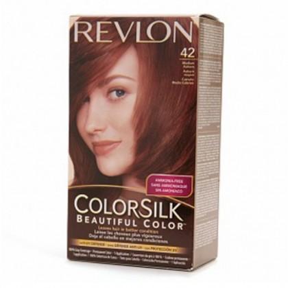Revlon Colorsilk Hair Color Dye Medium Auburn 42