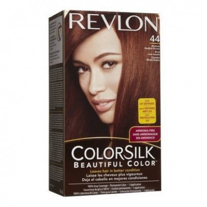 Revlon Colorsilk Hair Color Dye – Medium Reddish Brown 44