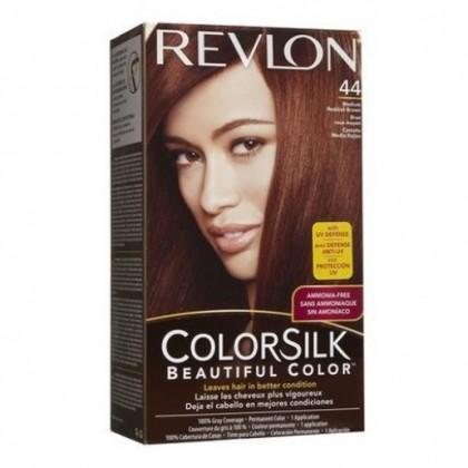 Revlon Colorsilk Hair Color Dye Medium Reddish Brown 44