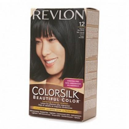 Revlon Colorsilk Hair Color Dye  Natural Blue Black 12  Online