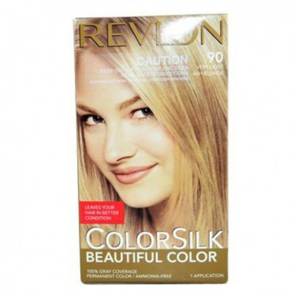 Colorsilk blonde Revlon light ash