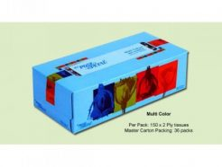 ROSE PETAL MULTICOLOR FACIAL TISSUES (150s)