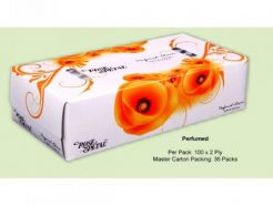 ROSE PETAL PERFUMED FACIAL TISSUES (100s)