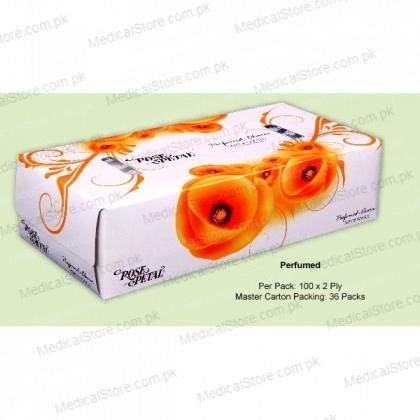ROSE PETAL PERFUMED FACIAL TISSUES (100s)
