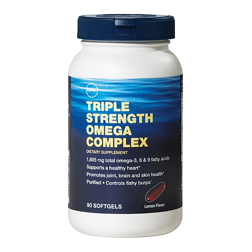 Triple strength omega complex 90 softgels gnc in pakistan for Side effects of fish oil supplements