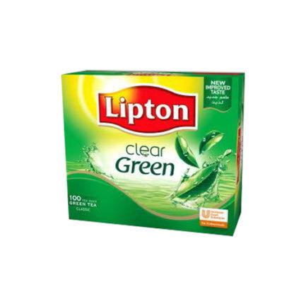 LIPTON GREEN TEA LEMON – Box Of 25 Tea Bags – Unilever