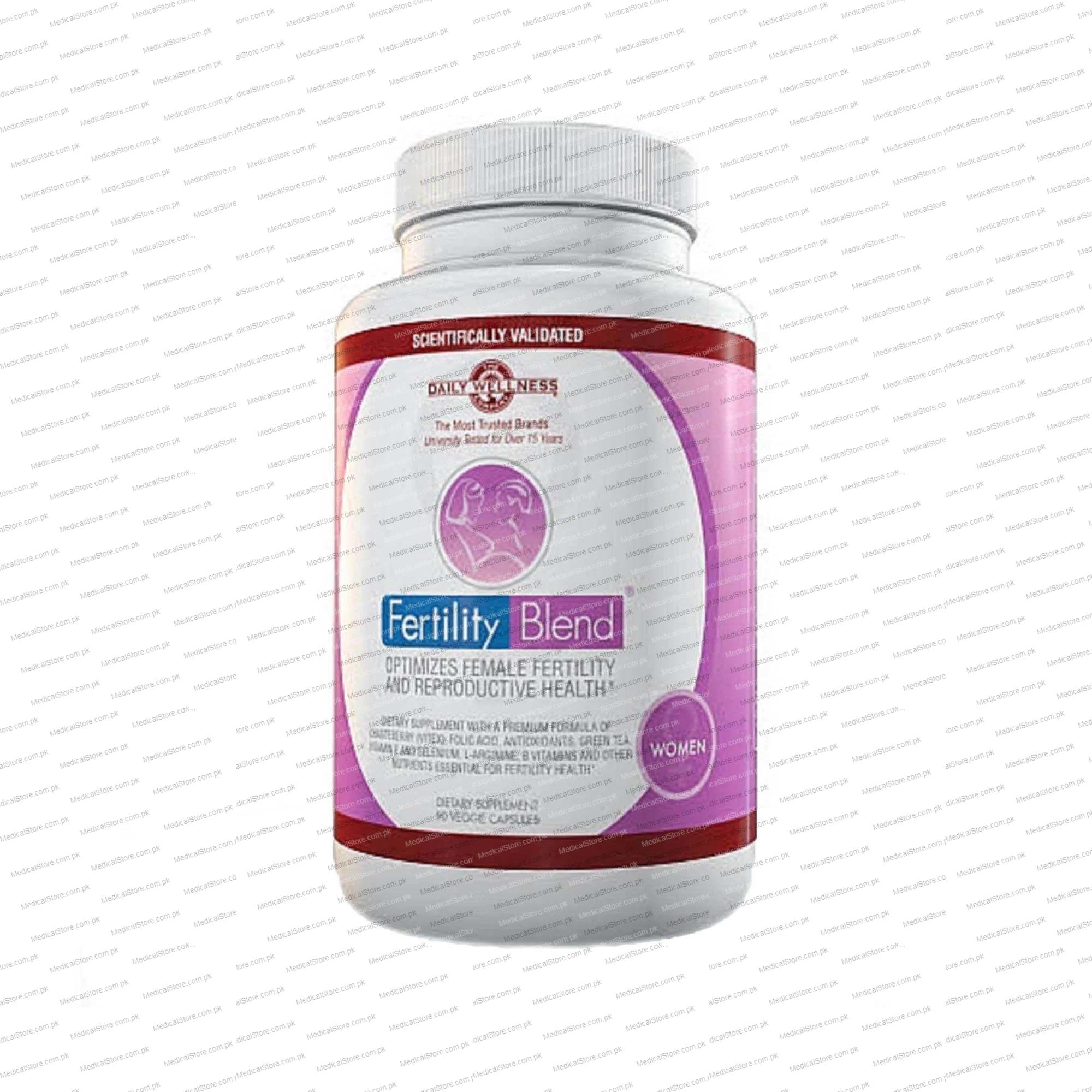 Fertility blend vitamins