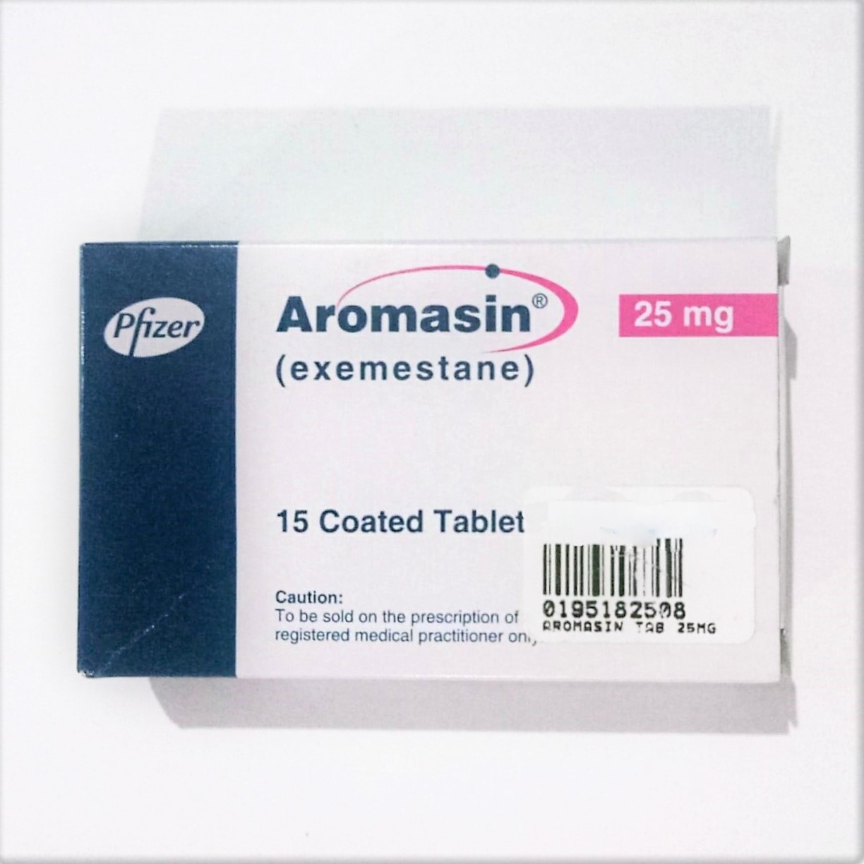 Aromasin tablet 25 mg 15's Price in Pakistan- MedicalStore.com.pk