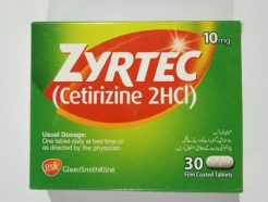Zyrtec tablet 10 mg 30's