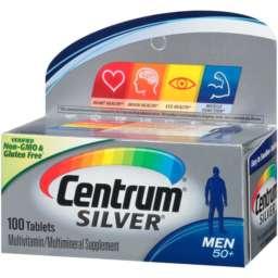 Centrum Silver Men 50 plus 100 tablets