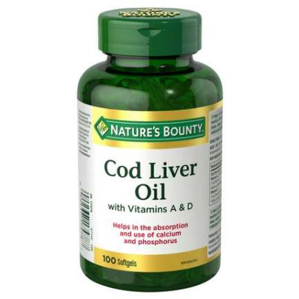 Cod Liver Oil with Vitamins A & D