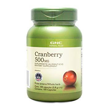 GNC-Cranberry 500mg