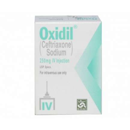 OXIDIL INJECTION 250MG IV