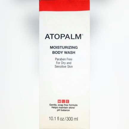 Atopalm moisturizing body wash