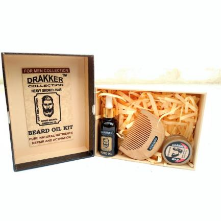 Drakker Collection-Beard oil kit Pure natural ingredients