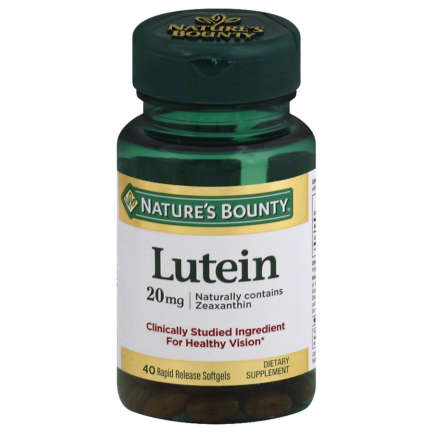 Lutein 20mg 40 softgels