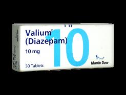 Medicalstore.com.pk- Valium (Diazepam) 30 Tablets - 10mg