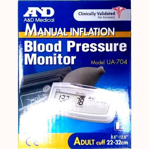 AND UA-704 Manual Inflation