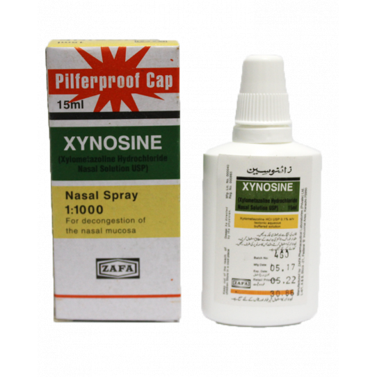 Xynosine Nasal Spray 0.1% 15ml