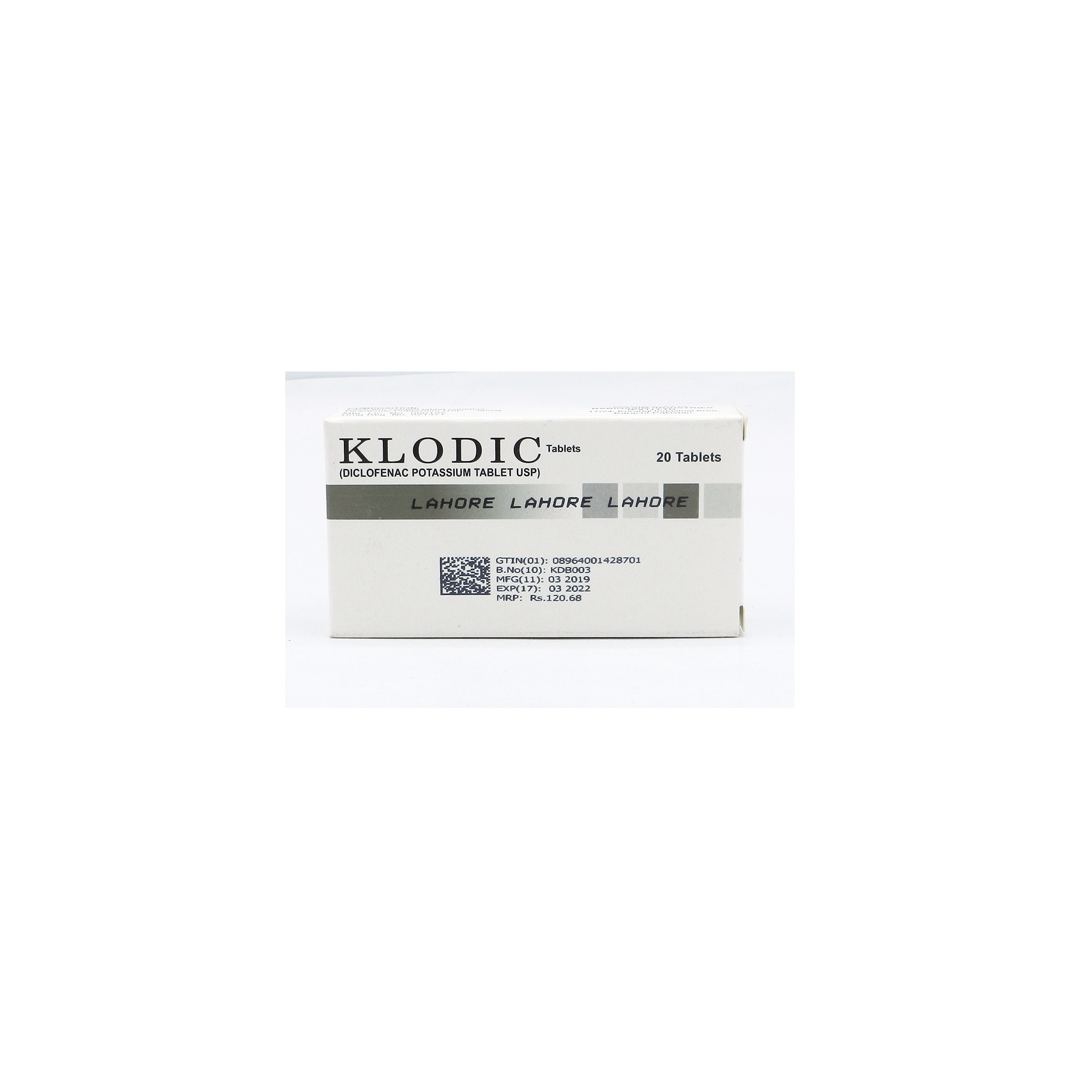 Klodic Tablet 50 Mg 20 S Price In Pakistan Medicalstore Com Pk